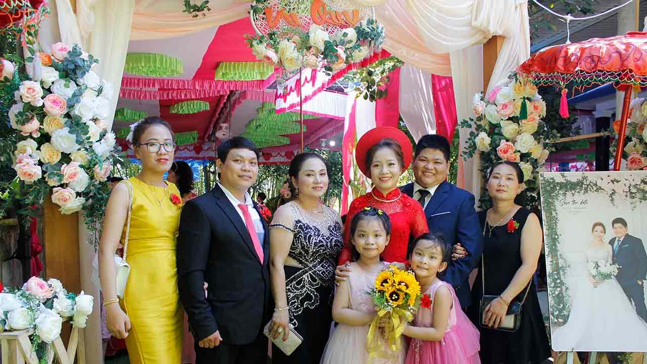 Chụp hình lễ cưới Đà Nẵng