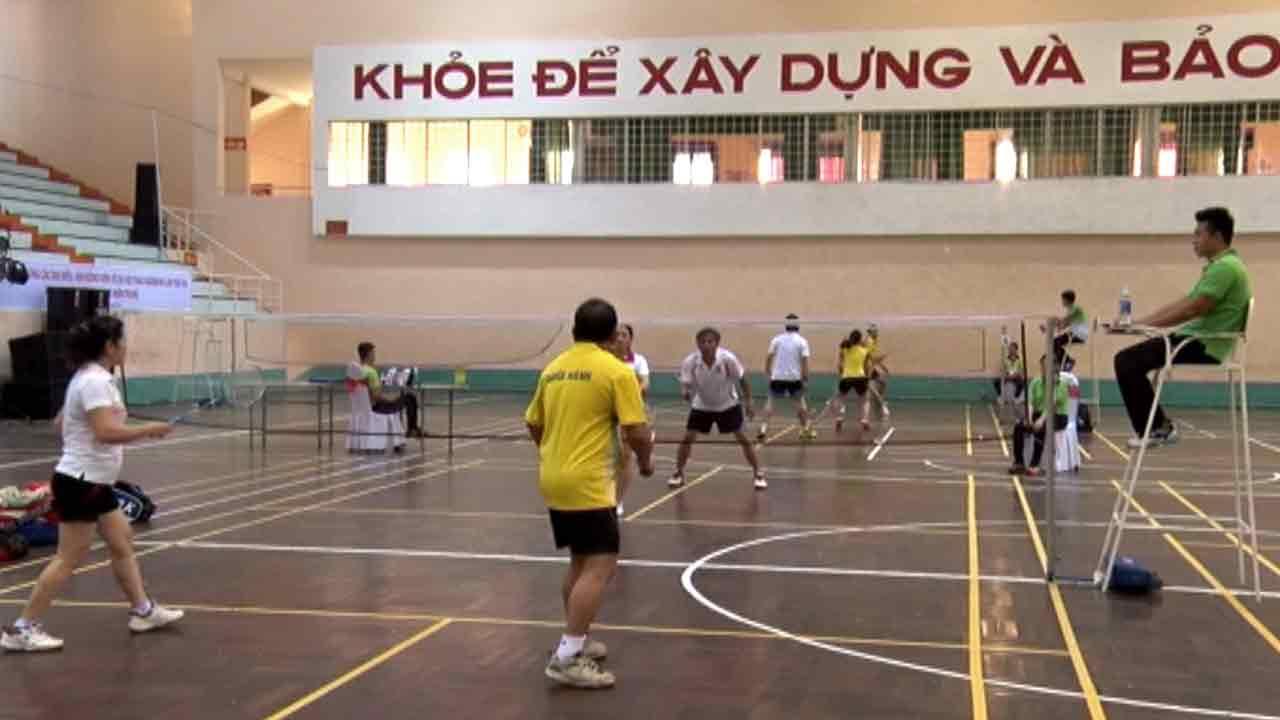 Giải thể thao cầu lông tại Đà Nẵng